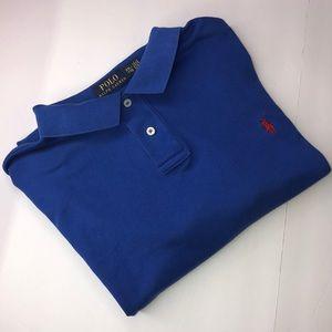 Men's polo by Ralph Lauren custom fit size XXL/TTG